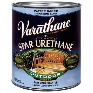 Varathane 250251 1 Pint Satin Water Based Outdoor Diamond Wood Finish