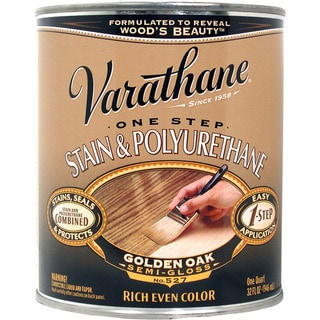 Varathane 225244H 1 Quart Golden Oak 1 Step Stain