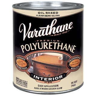 Varathane 6041H 1 Qt Semi-Gloss Varathane Classic Clear Diamond Wd Finish