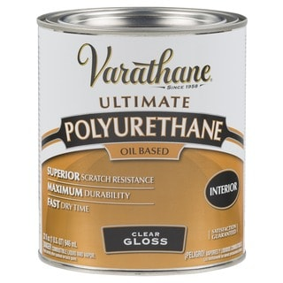 Varathane 9041H 1 Quart Gloss Classic Clear Diamond Wood Finish