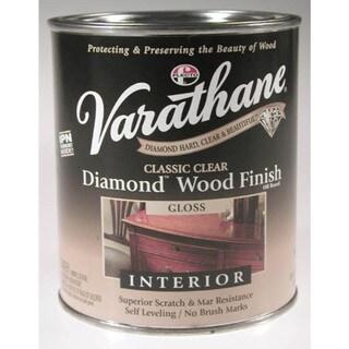 Varathane 9041H 1 Quart Gloss Classic Clear Diamond Wood ...