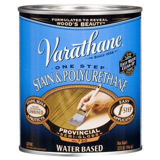 Varathane 239582H 1 Quart Provincial Polymer Wood Stain