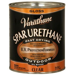 Varathane 9241H 1 Quart Gloss Outdoor Diamond Oil Based Wood Finish