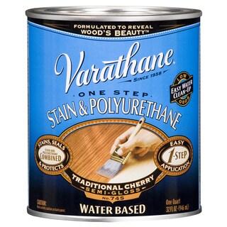 Varathane 239583H 1 Qt. Traditional Cherry Stain & Polyurethane