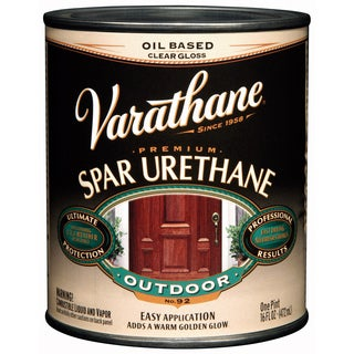 Varathane 9251 1 Pint Gloss Outdoor Diamond Oil Based Wood Finish