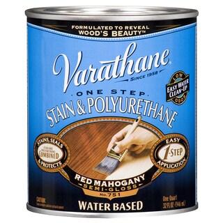 Varathane 239584H 1 Qt. Red Mahogany Stain & Polyurethane