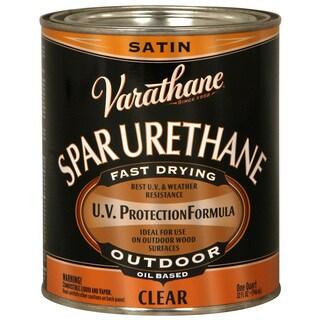 Varathane 9341H 1 Quart Satin Outdoor Diamond Oil Based Wood Finish