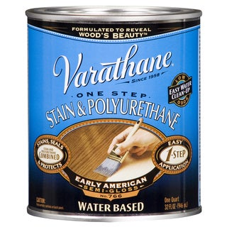 Varathane 239586H 1 Qt. Early American Stain & Polyurethane