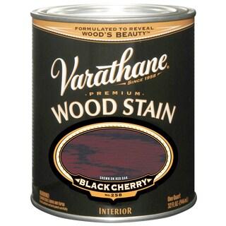 Varathane 241411H Quart Black Cherry Varathane Premium Wood Stain