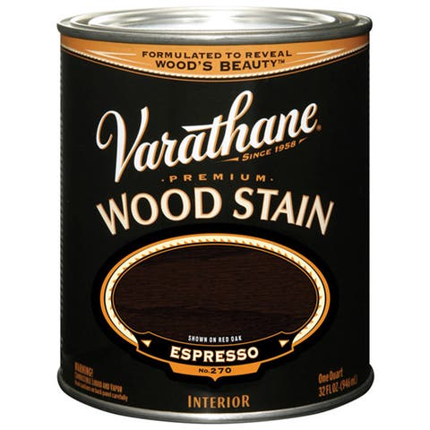 Varathane 241414 1/2 Pint Espresso Varathane Premium Wood Stain