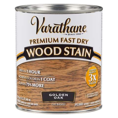 Varathane 262003 1 Qt. Golden Oak Fast Drying Stain