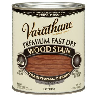 Varathane 262008 1 Qt. Traditional Cherry Fast Dry Wood Stain