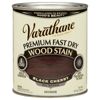 Varathane 262009 1 Qt. Black Cherry Fast Dry Wood Stain