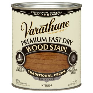 Varathane 262013 1 Qt. Traditional Pecan Fast Dry Wood Stain