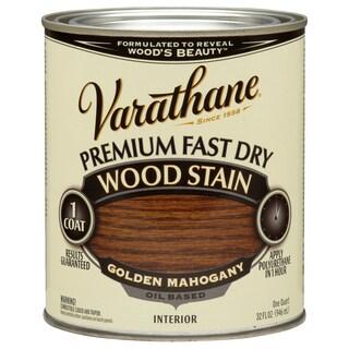 Varathane 262014 1 Quart Mahogany Fast Dry Wood Stain