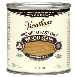 Varathane 262023 1/2 Pint Spring Oak Fast Dry Wood Stain