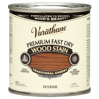 Varathane 262027 1/2 Pint Traditional Cherry Fast Dry Wood Stain