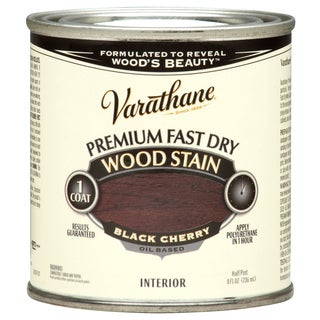 Varathane 262028 1/2 Pint Black Cherry Fast Dry Wood Stain