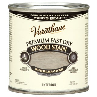 Varathane 262030 1/2 Pint Sunbleached Fast Dry Wood Stain