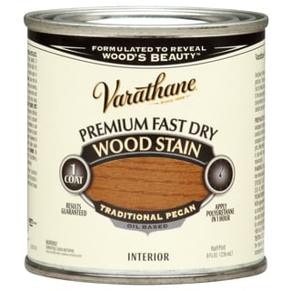 Varathane 262032 1/2 Pint Traditional Pecan Fast Dry Wood Stain
