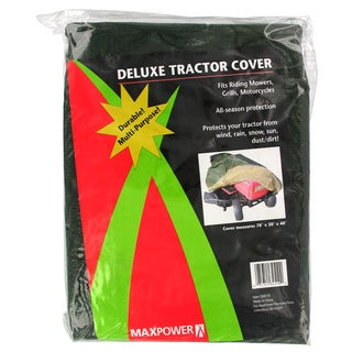 Maxpower 334510 78 inches x 30 inches x 48 Inches Deluxe Mower Cover