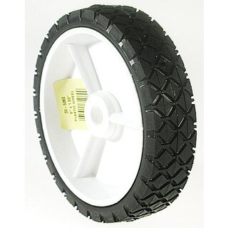 Maxpower 335060 6 inches x 1.50 Inches Plastic Lawn Mower Wheel