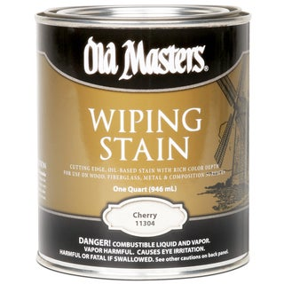 Old Masters 11304 1 Quart Cherry Wiping Stain