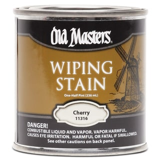 Old Masters 11316 1/2 Pint Cherry Wiping Stain