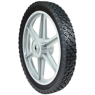 Maxpower 335110 14 inches x 1.75 Inches Plastic Spoked Wheel