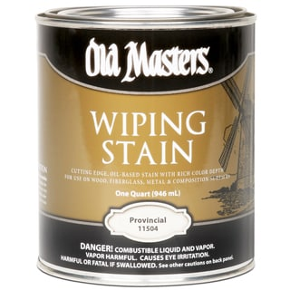Old Masters 11504 1 Quart Provincial Wiping Stain