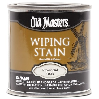 Old Masters 11516 1/2 Pint Provincial Wiping Stain
