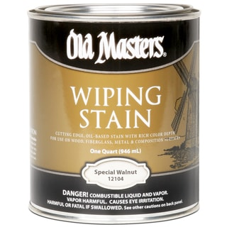 Old Masters 12104 1 Quart Special Walnut Wiping Stain