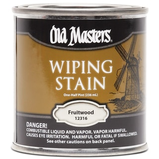 Old Masters 12316 1/2 Pint Fruitwood Wiping Stain