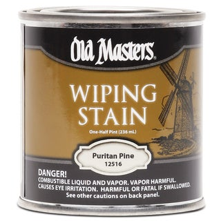 Old Masters 12516 1/2 Pint Puritan Pine Wiping Stain