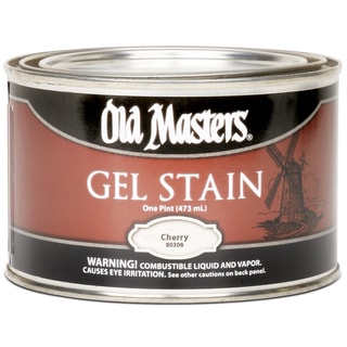 Old Masters 80308 1 Pint Cherry Gel Stain