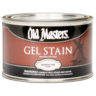 Old Masters 81408 1 Pint Spanish Oak Gel Stain
