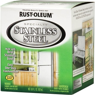 Rustoleum Specialty 247963 1 Quart Stainless Steel Paint