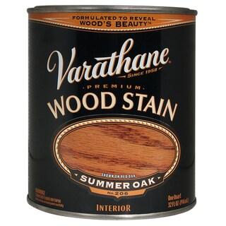 Varathane 211689H Quart Summer Oak Varathane Premium Wood Stain