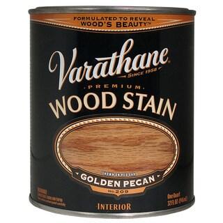 Varathane 211710H Quart Golden Pecan Varathane Premium Wood Stain