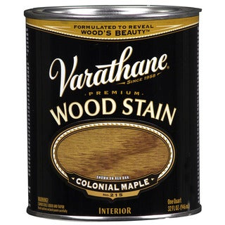 Varathane 211712H Quart Colonial Maple Varathane Premium Wood Stain