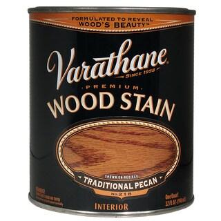 Varathane 211713H Quart Traditional Pecan Varathane Premium Wood Stain