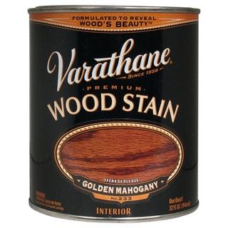 Varathane 211718H 1 Quart Gold Mahogany Varathane Premium Wood Stain
