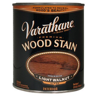 Varathane 211719H 1 Quart Light Walnut Varathane Premium Wood Stain