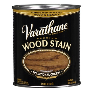 Varathane 211722H 1 Quart Traditional Cherry Varathane Premium Wood Stain