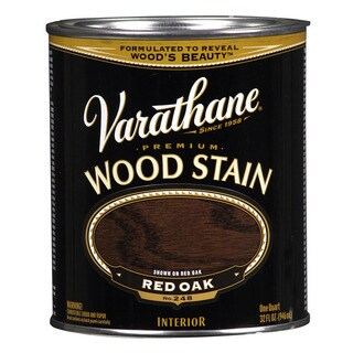 Varathane 211723H 1 Quart Red Oak Varathane Premium Wood Stain