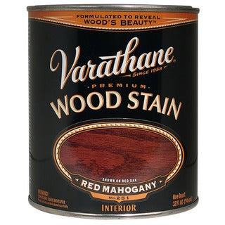 Varathane 211724H 1 Quart Red Mahogany Varathane Premium Wood Stain