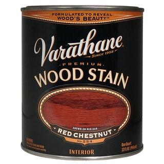Varathane 211725H 1 Quart Red Chestnut Varathane Premium Wood Stain