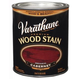 Varathane 211726H 1 Quart Caberbet Varathane Premium Wood Stain