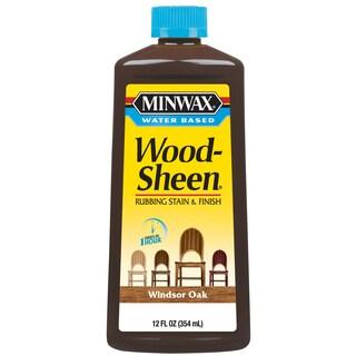 Minwax 30419 12 Oz Windsor Oak Water Based WoodSheen Wood Stain