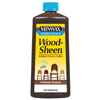Minwax 30443 12 Oz Colonial Walnut Water Based WoodSheen Wood Stain